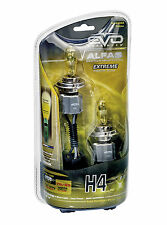 2x Sumex Yellow H4 ALFAS 2800K 120W Bright Upgade Headlight Front Light Bulb Set
