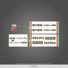 01167 Gios Super Record Bicycle Stickers - Decals - Transfers