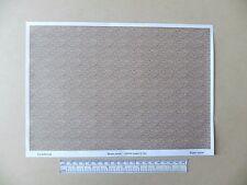 """OO/HO gauge (1:76 scale) """"brown brick""""  paper - A4 sheet"""