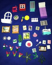 LOT of Lego/Other HOME DECOR/BED/KITCHEN UTENSILS/PLANTS/WINDOWS/FLOWERS/CLOCKS
