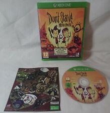 Xbox One nicht verhungern Mega Pack Fun Spiel komplett mit Controller Haut