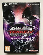 Tekken Tag Tournament 2 Tekken Ed. PlayStation 3 PS3 Exclusive Steelbook Signed