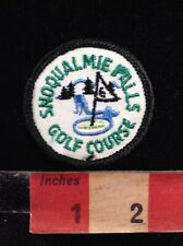 Vintage Washington Golf Patch SNOQUALMIE FALLS COUNTRY CLUB 00M4
