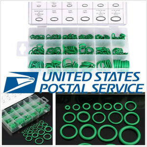 270 Pcs Car SUV Assortment 18 Sizes HNBR A/C System Seal O-Ring Rubber