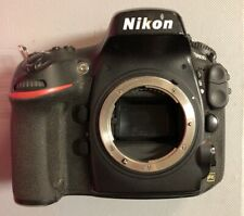 USED! NIKON D800  DIGITAL  CAMERA BODY ONLY - No Box , No Case