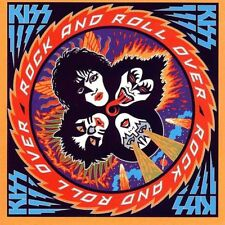 Kiss - Rock And Roll Vinyl LP Cover 80's Metal Sticker or Magnet