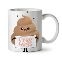 Free Hugs Poop NEW White Tea Coffee Mug 11 oz | Wellcoda