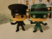 Funko Pop! Green Hornet (Specialty Series) & Kato (Toy Tokyo) Exclusive Set OOB