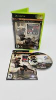 America's Army: Rise of a Soldier (Microsoft Xbox, 2005) With Manual