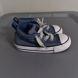 Converse All Star Chuck Taylor Toddler Boys Size 7 Shoes Blue High Top Sneakers
