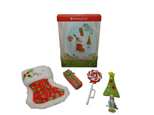 """American Girl WELLIEWISHERS MERRY STOCKING SET for 15"""" Dolls WW Christmas NEW"""