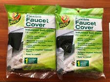 2 x Duck Flexible Faucet Covers Insulated Soft Cover 7.5 x 8.75
