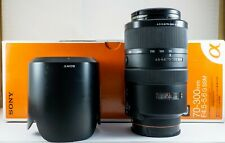 EXC+++ Sony Alpha G-Series 70-300mm f/4.5-5.6 SSM G Lens Complete SAL70300G