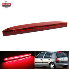 Red Lens LED High Mount Level Third Brake Stop Light For Renault Clio II Campus