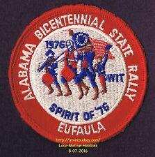 LMH Patch 1976 WINNEBAGO TRAVELERS Club RV Motorhome WIT W.I.T. Eufaula AL RALLY