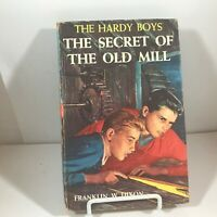 Vintage Hardcover THE HARDY BOYS The Secret of the Old Mill