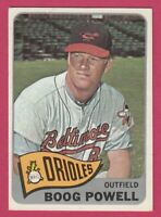 1965 Topps # 560 Boog Powell -- Baltimore Orioles -- Box 722-500
