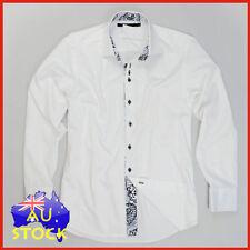 Unbranded Cotton Slim Fit Business & Formal Shirts for Men