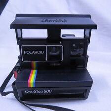Polaroid 600 OneStep Instant Camera Rainbow Stripe one step