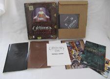 Ultima IX 9 Ascension PC Big Box COMPLETE Good Condition CIB acension
