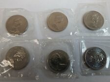 $1.00 1971 CANADA 6 PIECE COIN SET UNCIRCULATED PL RC MINT SEALED 1¢