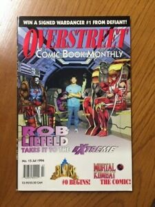 OVERSTREET COMIC BOOK MONTHLY #15 JULY 1994