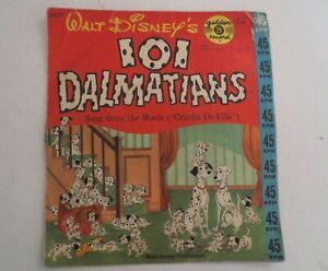 Disney 101 Dalmatians Golden Record 45RPM