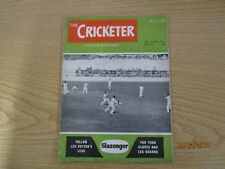 May 1st 1954, THE CRICKETER, Walter Mead, Philip Thomson, Sir Pelham Warner.