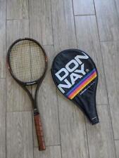vintage DONNAY fiber wood composite BJORN BORG tennis racquet 4-1/2 GT18
