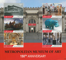 More details for grenada 2021 mnh architecture stamps metropolitan museum of art museums 6v m/s