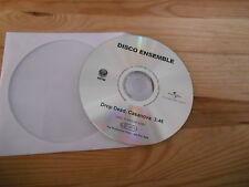 CD pop Disco ensemble-Drop Dead, Casanova (1 chanson) promo vertigo CD only