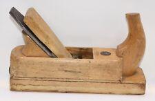 "Vintage 2"" Original Steiner 1859 (Ulmia) Wedged Smoothing Plane (INV E394)"