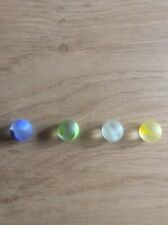 4 X Glass Marbles