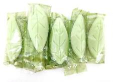9pc Lot Westin Heavenly Spa White Tea Aloe Soap Leaf Shape Guest Travel Bars