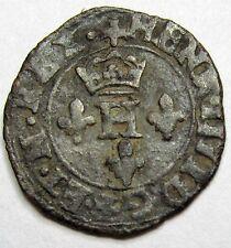 HENRI IV - Liard à L'H couronné - 1601 Chambéry - RARE