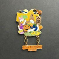 DLR - Happy Halloween 2007 - Donald and Daisy Duck Disney Pin 56500