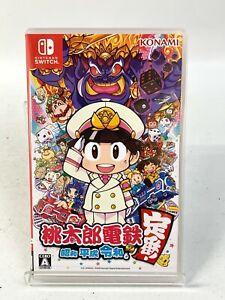Nintendo Switch Momotaro Dentetsu Showa Heisei Reiwa Classic! Game Japan Fedex