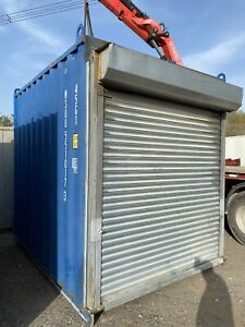 10ft High Cube Storage Container With Roller Shutter Door Shipping Container