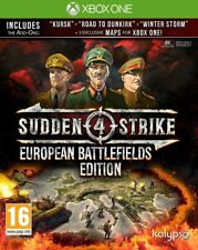 Sudden Strike 4 European Battlefields Edition Xbox One * NEW SEALED PAL *