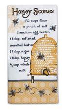 Kay Dee Designs Flour Sack Towel Queen Bee Honey Scones Recipe Cotton R6253