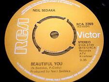 """NEIL SEDAKA - BEAUTIFUL YOU     7"""" VINYL"""