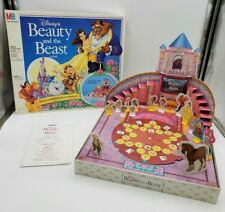 Disney's Beauty and the Beast Board Game MB Milton Bradley