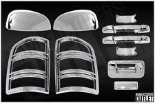 2007-2013 GMC Sierra 1500/2500 2 Door Mirror Tailgate w/ BackCam Taillight Cover