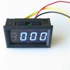 Blue LED DC4.5-30 LED HOUR METER Panel Digital Clock Timer Timepiece Chronometer