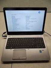 HP ProBook 650 G1 laptops i5-4300M 2.6GHZ/4GB/Camera