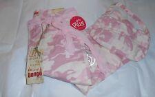 Bongo Girls Plus Size Embellished Camouflage Jeans Pink + Purse 10 1/2 NWT