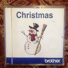 Embroidery Designs Card Christmas Winter Snow  Deco Brother Baby Lock Simplicity