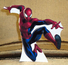 "Marvel Comics ""Spiderman"" Color Figure Tabletop Display Standee 8"" Tall"