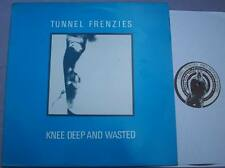 TUNNEL FRENZIES Knee Deep and Wasted INDIE GRUNGE with PICTURE SLEEVE