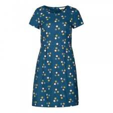 Casual Spotted Dresses for Women with Cap Sleeve